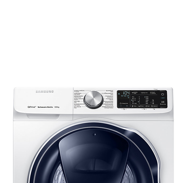 samsung lavatrice quickdrive ww80m642opw ws acquista a rate. Black Bedroom Furniture Sets. Home Design Ideas